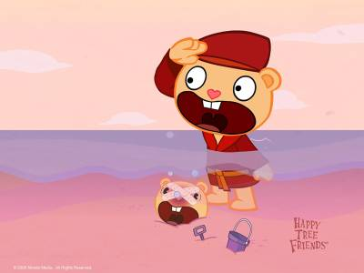 happy tree friends violence